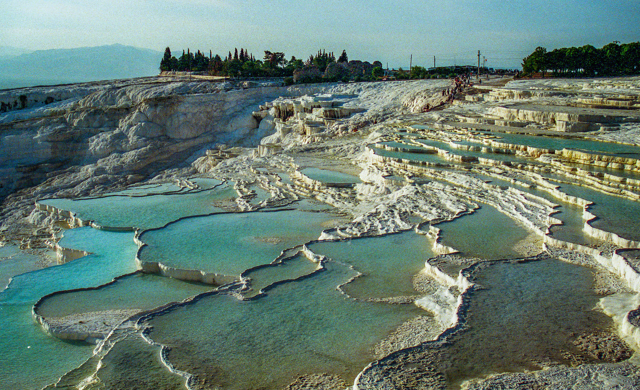 Salt pools, Pamukkale, Turkey