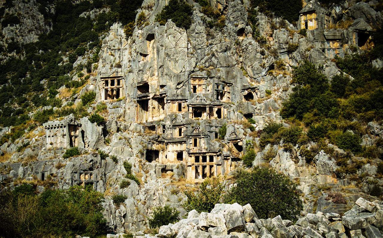 Lycian Rock Tombs.