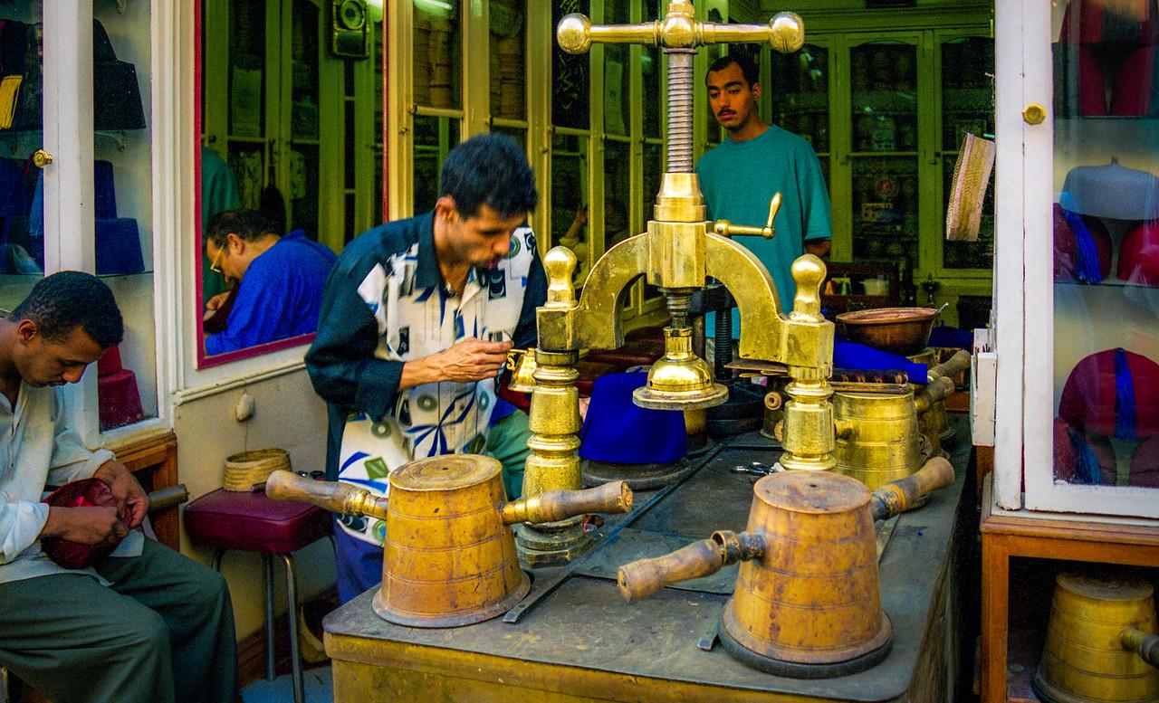 Fez Making, Egypt