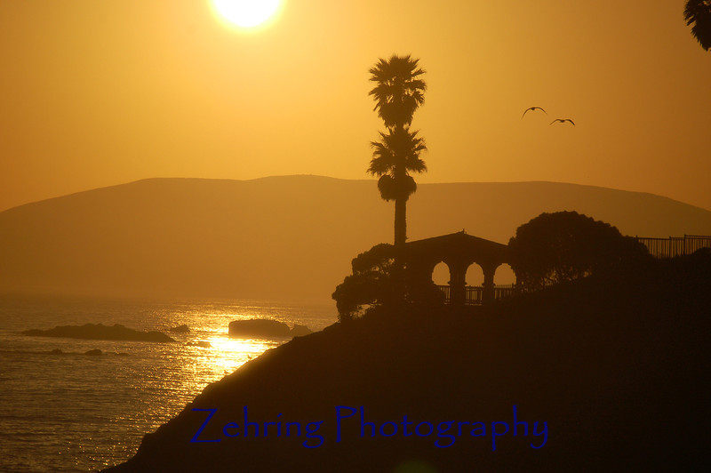 Sunset at Pismo Beach, California.