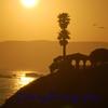 Sunset at Pismo Beach, California.