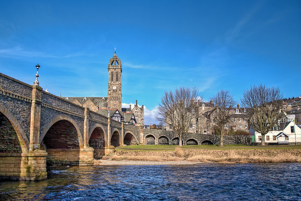 (0344) Peebles, Scotland
