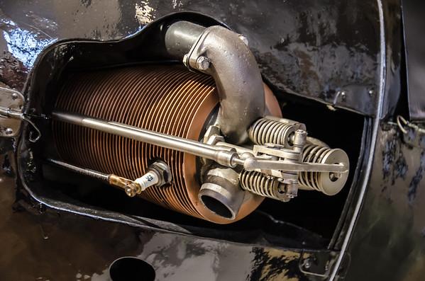 Motor Of Museum Aeroplane