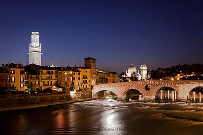Ponto Pietra  Verona, Italy.