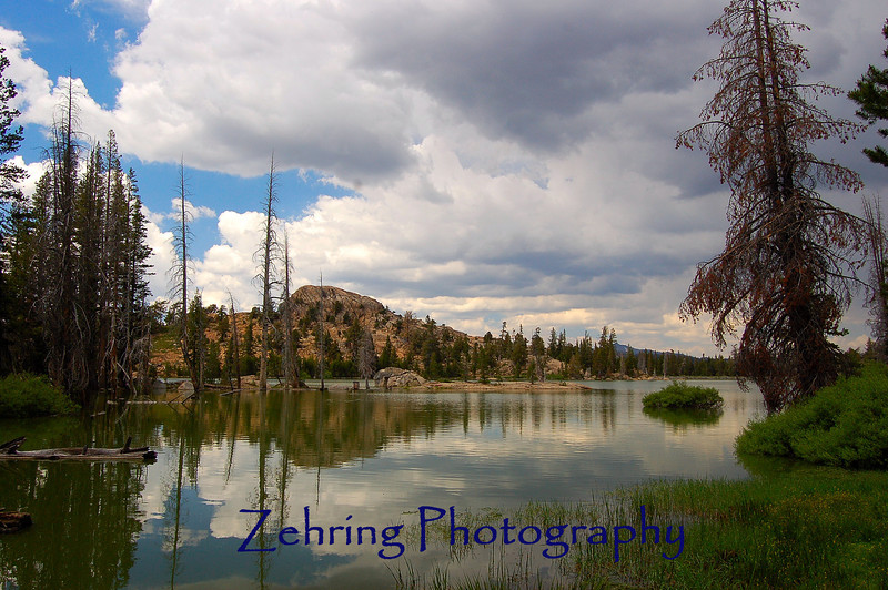 Another alpine lake with it's beautiful surroundings and serene reflections.