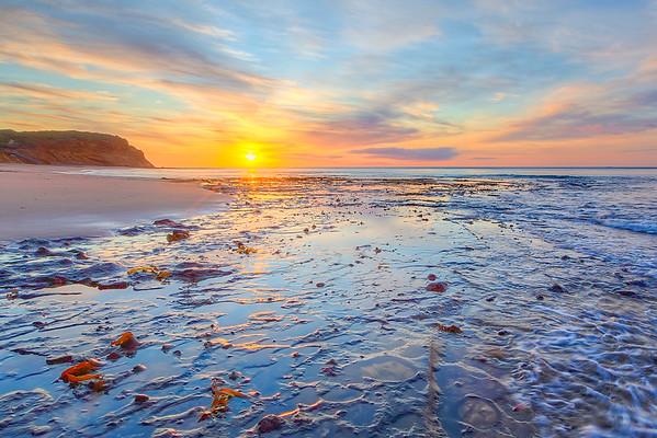 (1713) Sand Gully Beach, Victoria, Australia
