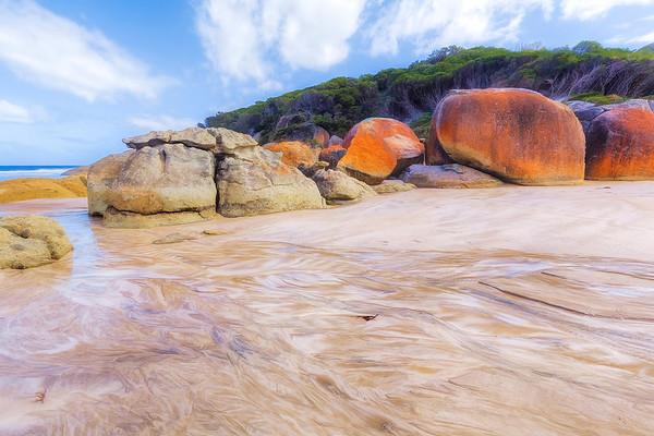 (2249) Squeaky Beach, Victoria, Australia