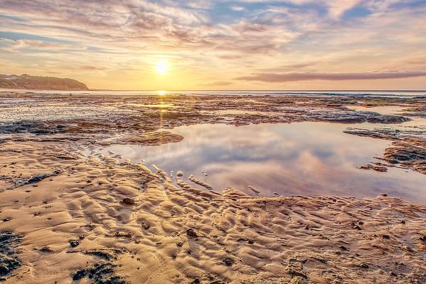 (1816) Sandy Gully Beach, Victoria, Australia
