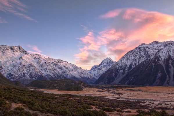 (0192) Mount Cook, South Island, New Zealand