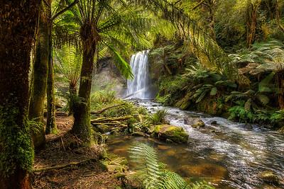 (1971) Hopetoun Falls, Victoria, Australia