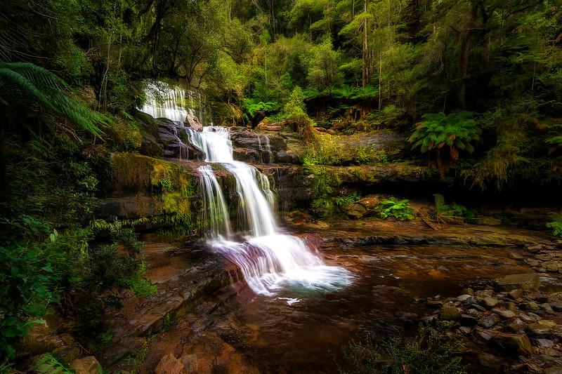 (2412) Liffey Falls, Tasmania, Australia