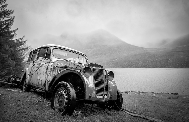 Vakker gammel bil