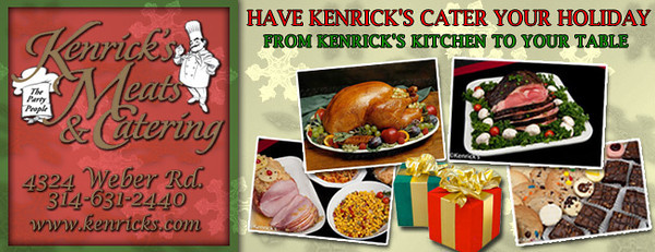Here is another example of how I am handed copy points and a theme, then run with them to create promotional material. This was an advertisement for Kenrick's Meat Market.  The client sent over their logo as well as some product images.