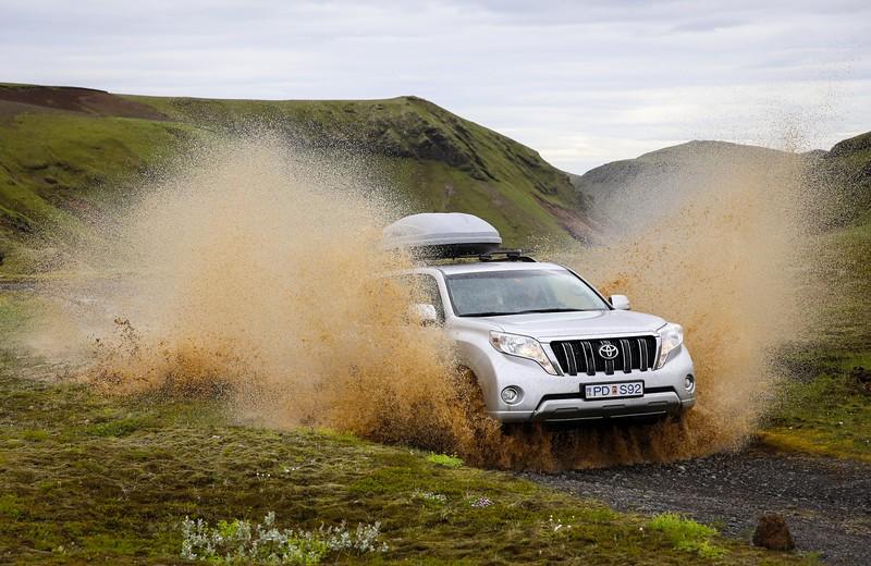 Mud through Iceland
