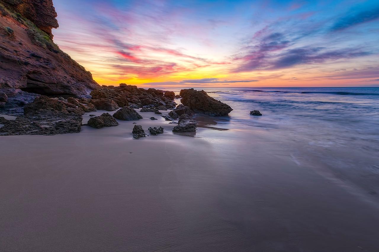 (1972) Sandy Gully Beach, Victoria, Australia