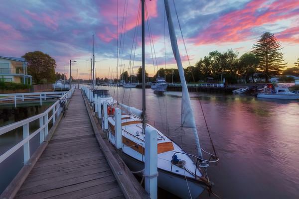 (2427) Port Fairy, Victoria, Australia