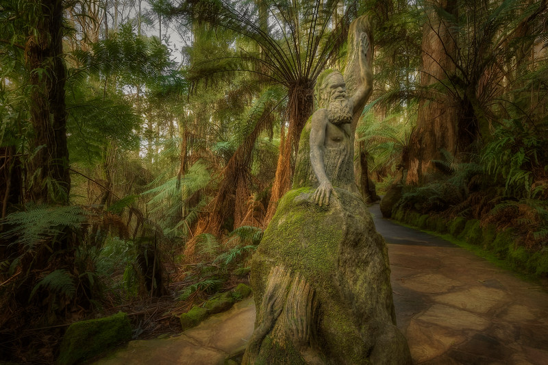 (2544) William Ricketts Sanctuary, Victoria, Australia