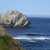 """Face Rock"" off the coast of Oregon."