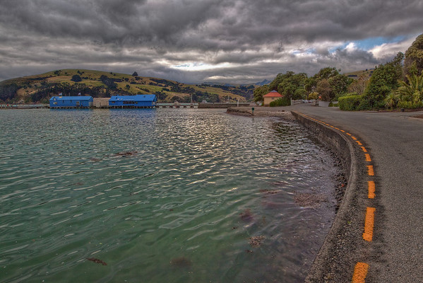 (0320) Akaroa, South Island, New Zealand