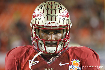 E.J. Manuel intensity at the Orange Bowl