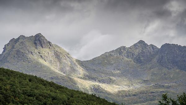 Flakstadøy Mountains