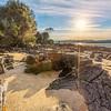 (1840) Hawley Beach, Tasmania, Australia