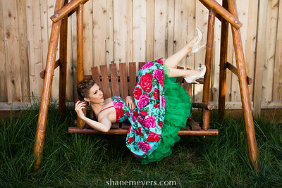 Relaxing on the Swing