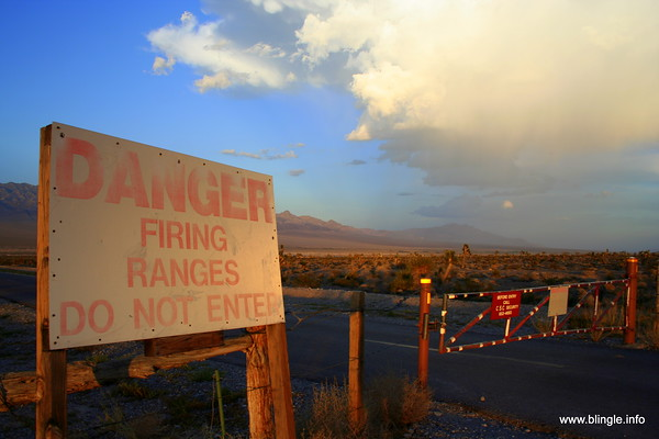 Nevada Test & Training Range. © Brandon Lingle