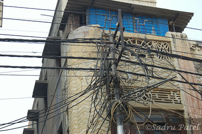 Old Delhi power grid