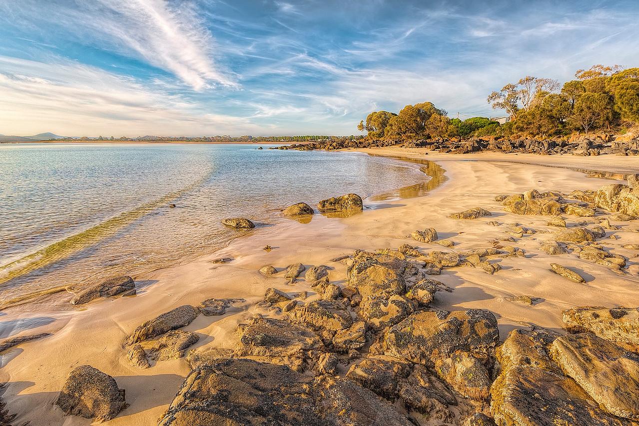 (1968) Hawley Beach, Tasmania, Australia