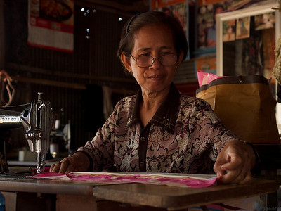 Harsh mistress or careful sower? Siem Reap  (Foto: Geir)