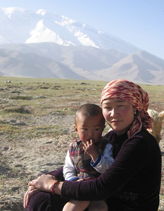Mother and Child in Himalayas
