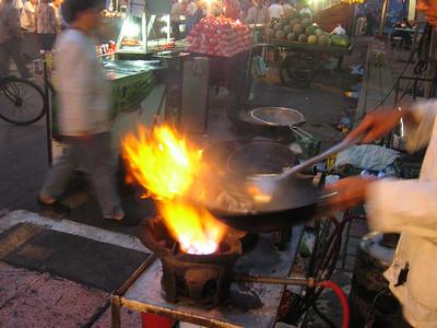Street Market, Urumqi, China