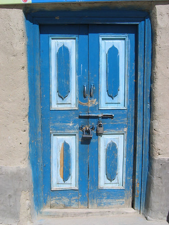 Door in Khyrgyz Village