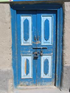 Door in Khyrgyz Village
