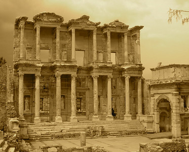 Library, Ephesus, Turkey