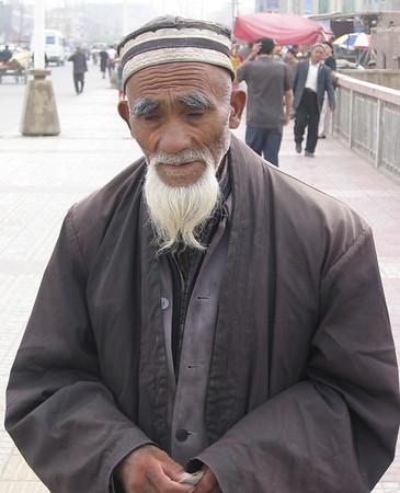Muslim Man, Kashgar, China