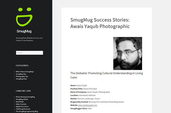 Success Stories by Smugmug