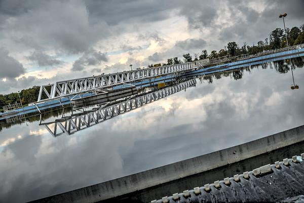Décantation primaire - Traitement des eaux usées Sausheim