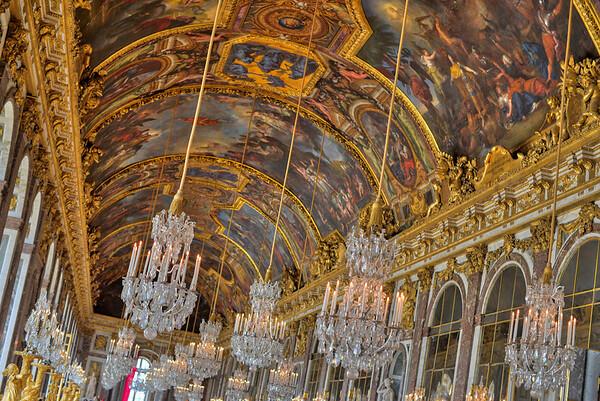 Galerie des glaces Versailles - Paris