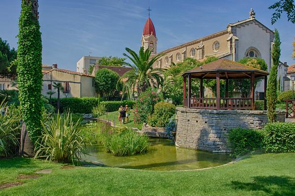 Jardin Saint Pierre - Pavalas les Flots - France