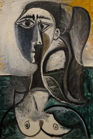 Buste de femme assise - Pablo Picasso
