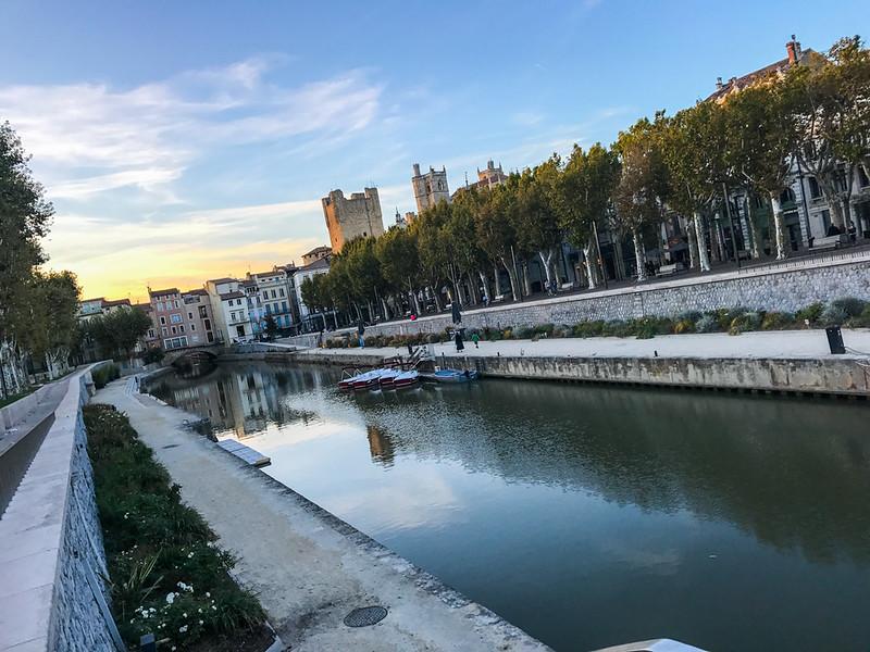 Canal de la Robine - Cours de la république/Mirabau Narbonne