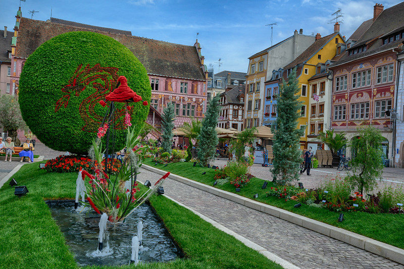 Jardin Ephémère 2013 - Mulhouse FRANCE
