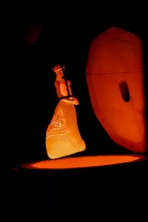 Statuette en Poterie cuite sortie du four - Fête de la Poterie - Guewenheim France