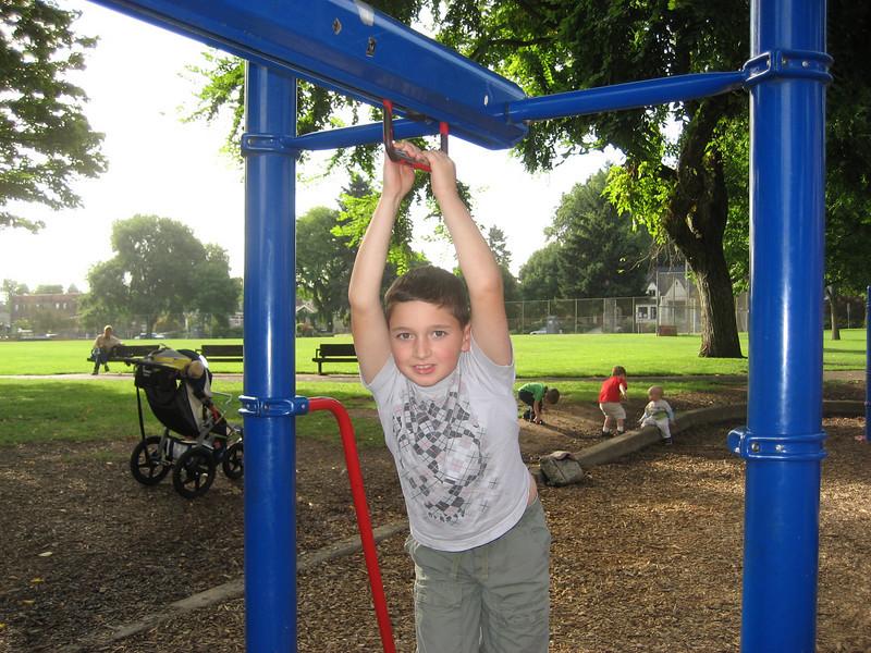 Max at Wallace Park