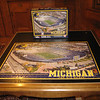 Michigan stadium jigsaw puzzle -- we finally finished it