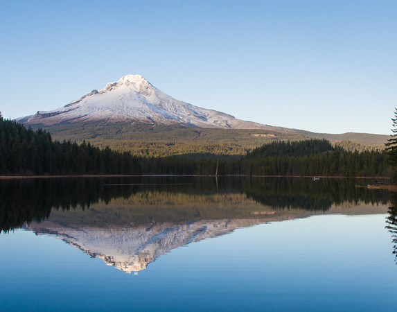 Mt Hood and Trillium Lake