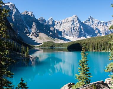 Moraine Lake, Jasper NP, Alberta, Canada