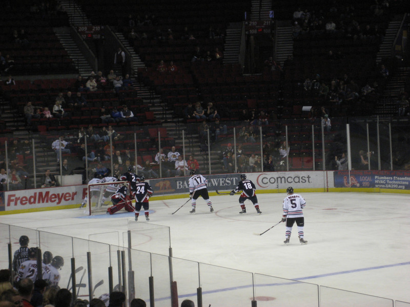 The Winterhawks game